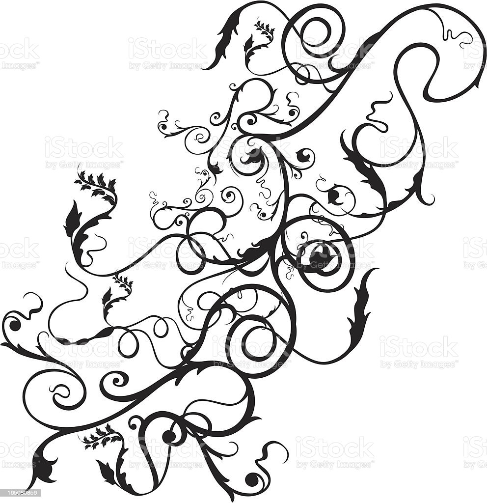 flourish floral royalty-free flourish floral stock vector art & more images of art