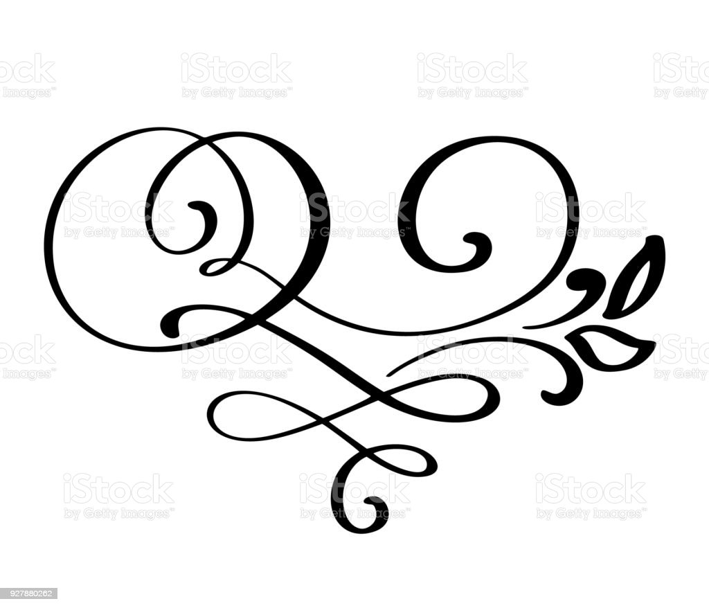 flourish swirl ornate decoration for pointed pen ink calligraphy rh istockphoto com vector flourishes and ornaments free vector flourishes png