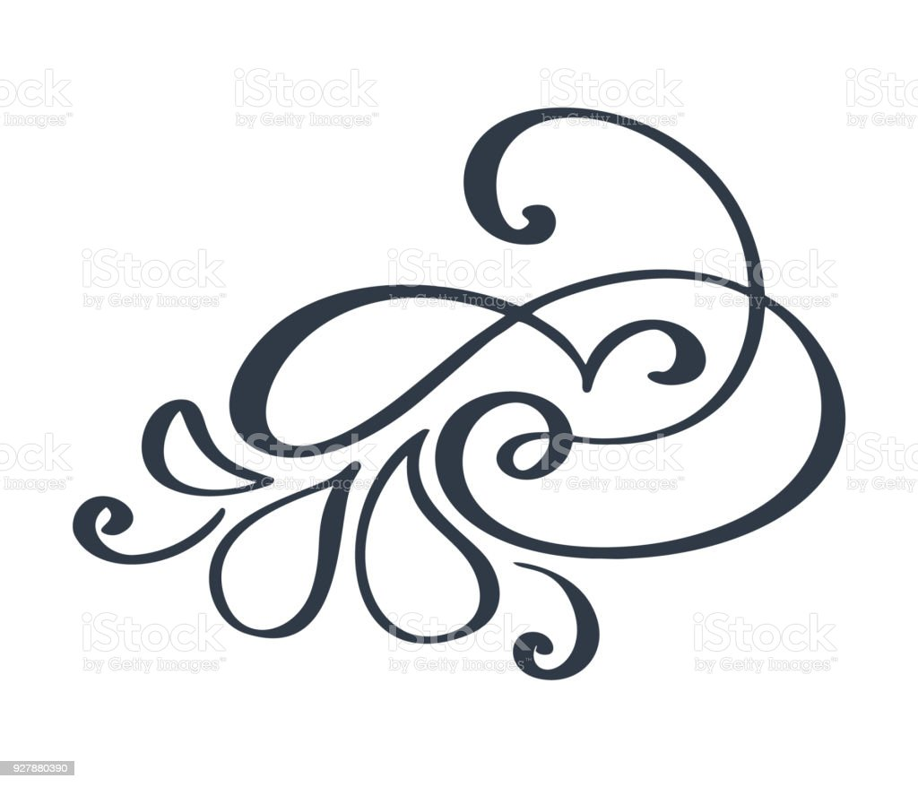 flourish swirl ornate decoration for pointed pen ink calligraphy rh istockphoto com vector flourishes and ornaments free vector flourishes free download