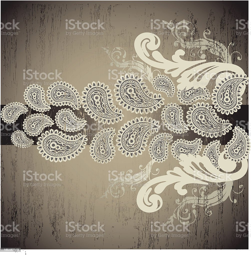 Flourishes and Paisleys royalty-free stock vector art