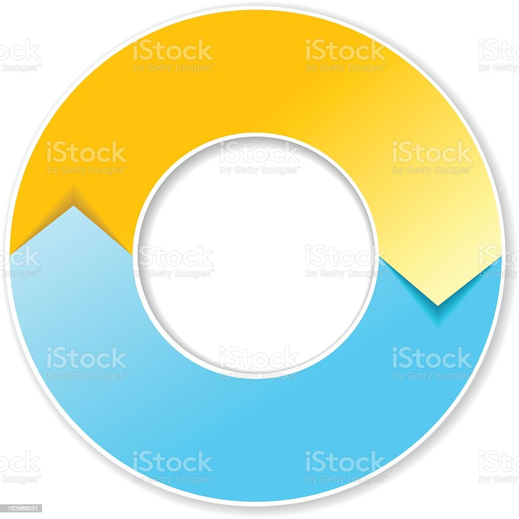 Flow Diagram royalty-free stock vector art