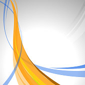 abstract flowing design background