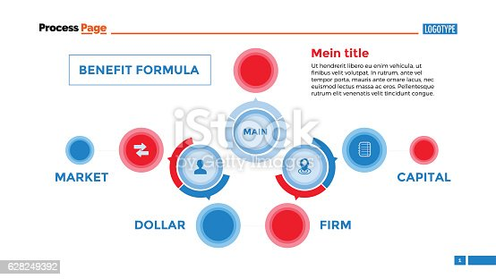 Flowchart business plan slide template stock vector art more flowchart business plan slide template stock vector art more images of abstract 628249392 istock wajeb Gallery