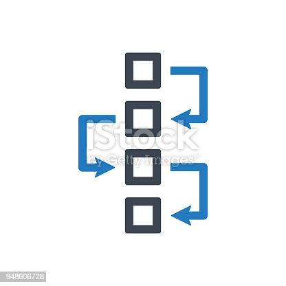Flowchart Diagram Icon Stock Vector Art More Images Of Bangladesh