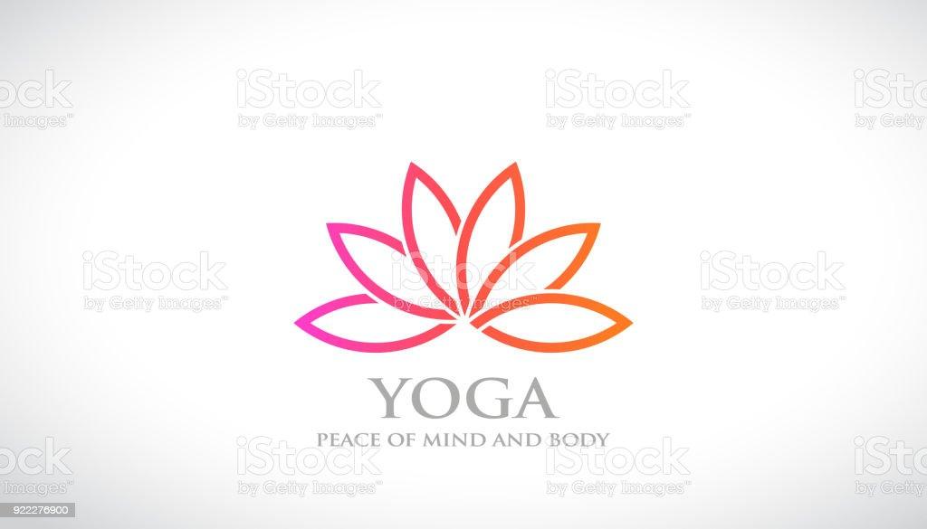 Flor abstracta Lotus Vector logos. SPA y Relax ilustración de flor abstracta  lotus vector logos 1309a0f16ded