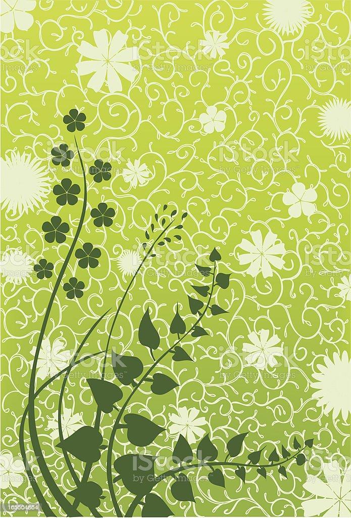 flower background pattern royalty-free stock vector art