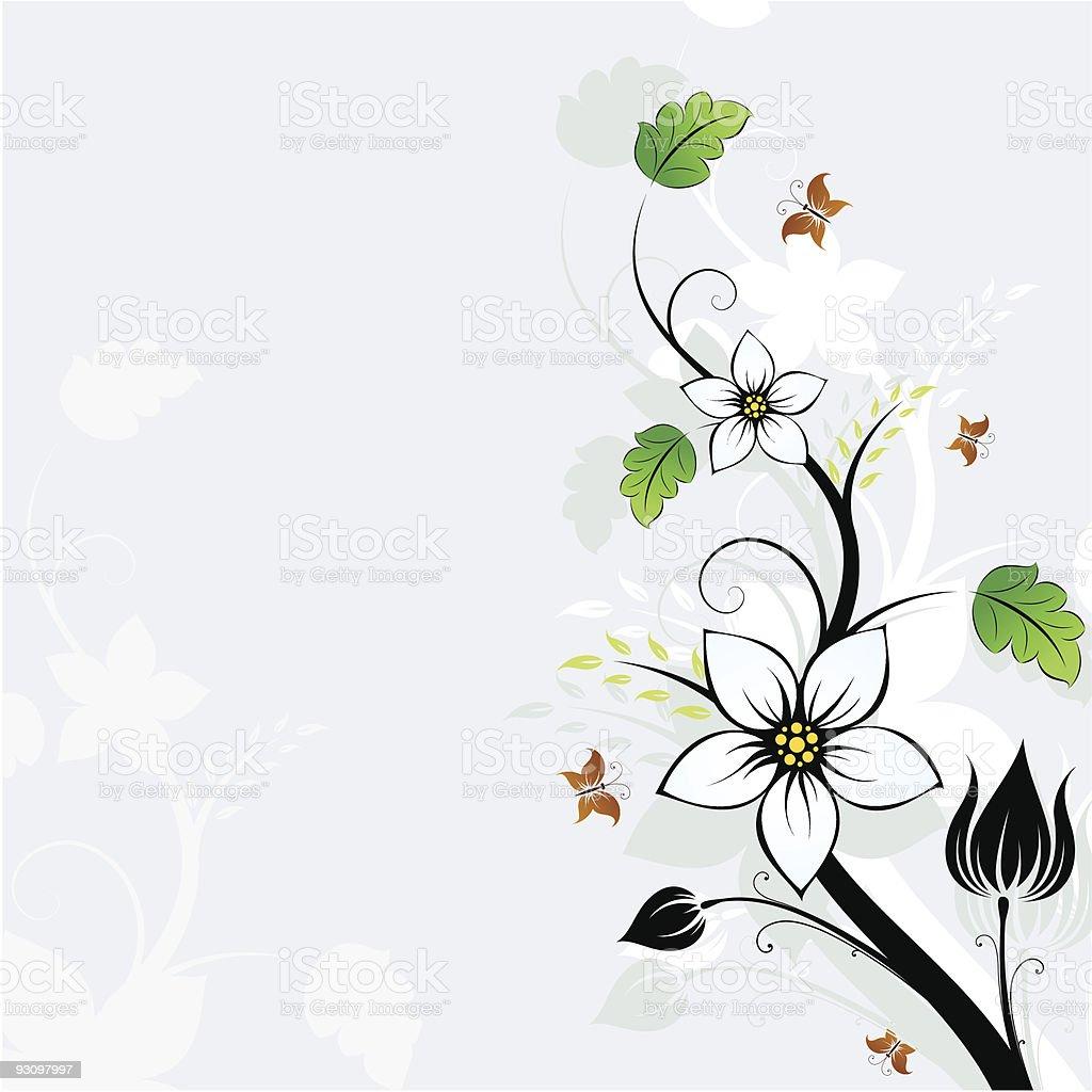 Flower background royalty-free flower background stock vector art & more images of art