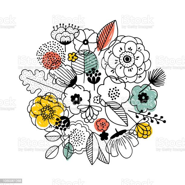 Flower bouquet composition linear graphic florals background style vector id1050061268?b=1&k=6&m=1050061268&s=612x612&h=vyw7wa w8kt  wobd4cgo0zwetkok5lzm 92dgdiggu=
