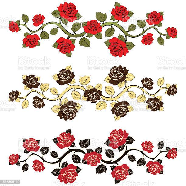Flower branch roses set ornament with roses floral print vector id578306112?b=1&k=6&m=578306112&s=612x612&h=pw zn5l9zvygrb6xccwn2f8dzihosl8rx3gk34xjej8=