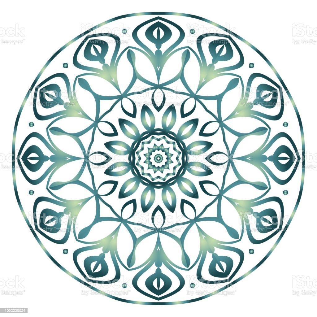 Blume Mandala Malvorlagen Dekorative Elemente Orientalische Muster Vektorillustration Indisch Marokkanisch Mystische Osmanischen Motiven Stock Vektor Art Und Mehr Bilder Von Abstrakt Istock