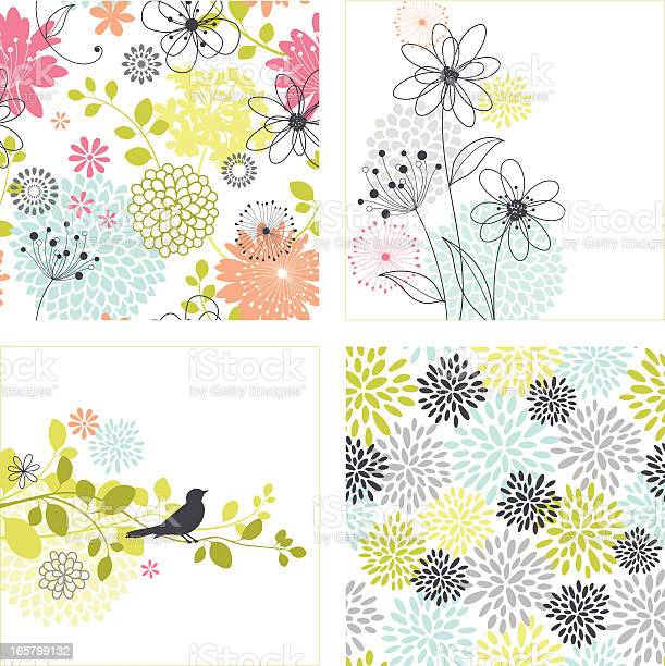Flower designs and seamless patterns vector id165799132?b=1&k=6&m=165799132&s=612x612&h=mp3twcvkzwykem7u6xgu8jformrimnsv3pcyy0jnatu=