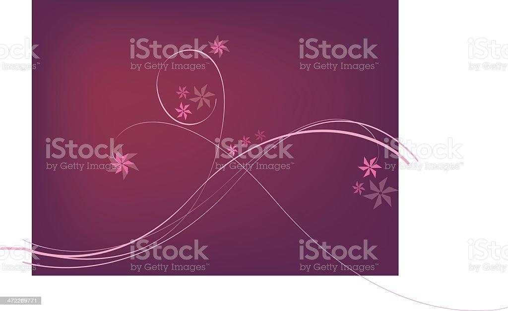 flower element 3 royalty-free stock vector art