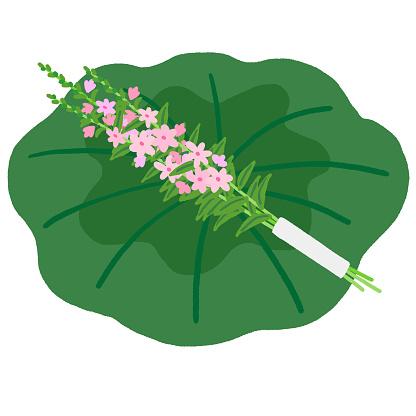 flower for the japanese spirit cabinet