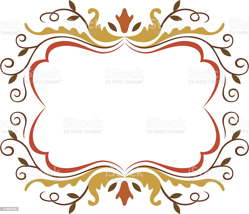 Flower Frame 02 royalty-free flower frame 02 stock vector art & more images of beauty