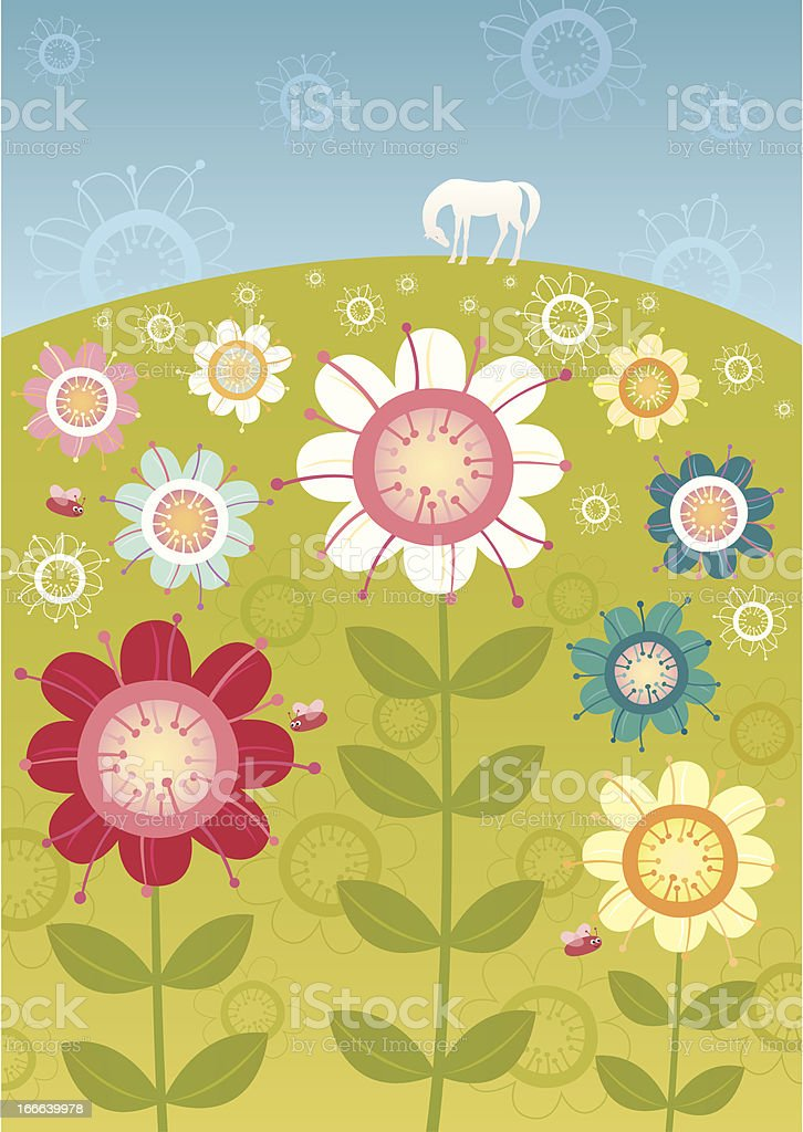 Flower garden royalty-free flower garden stock vector art & more images of abundance