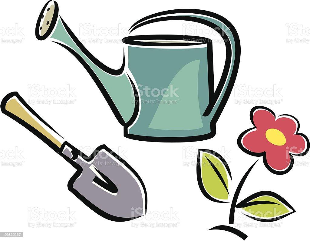 Flower garden Lizenzfreies flower garden stock vektor art und mehr bilder von baumblüte