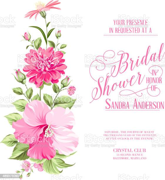 Flower garland for invitation card vector id489375090?b=1&k=6&m=489375090&s=612x612&h=ym vlcxqsgbxrlhdy9m0japl83cxbsngb0tv1ljabs8=