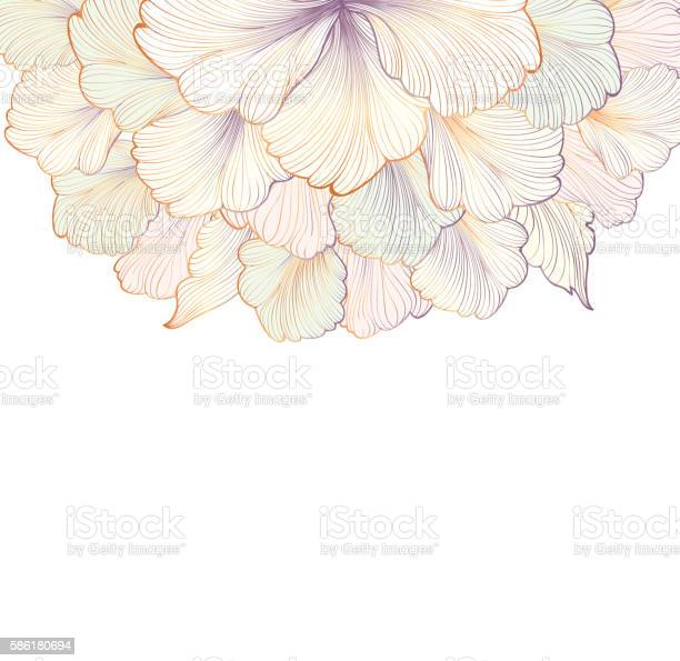 Flower gentle white background floral frame flourish greeting card vector id586180694?b=1&k=6&m=586180694&s=612x612&h=htjlr2mwxlitue6z7travqlb6qgucrxf4rwsh ckepw=