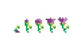 istock flower grows pixel art icon vector 1064795478