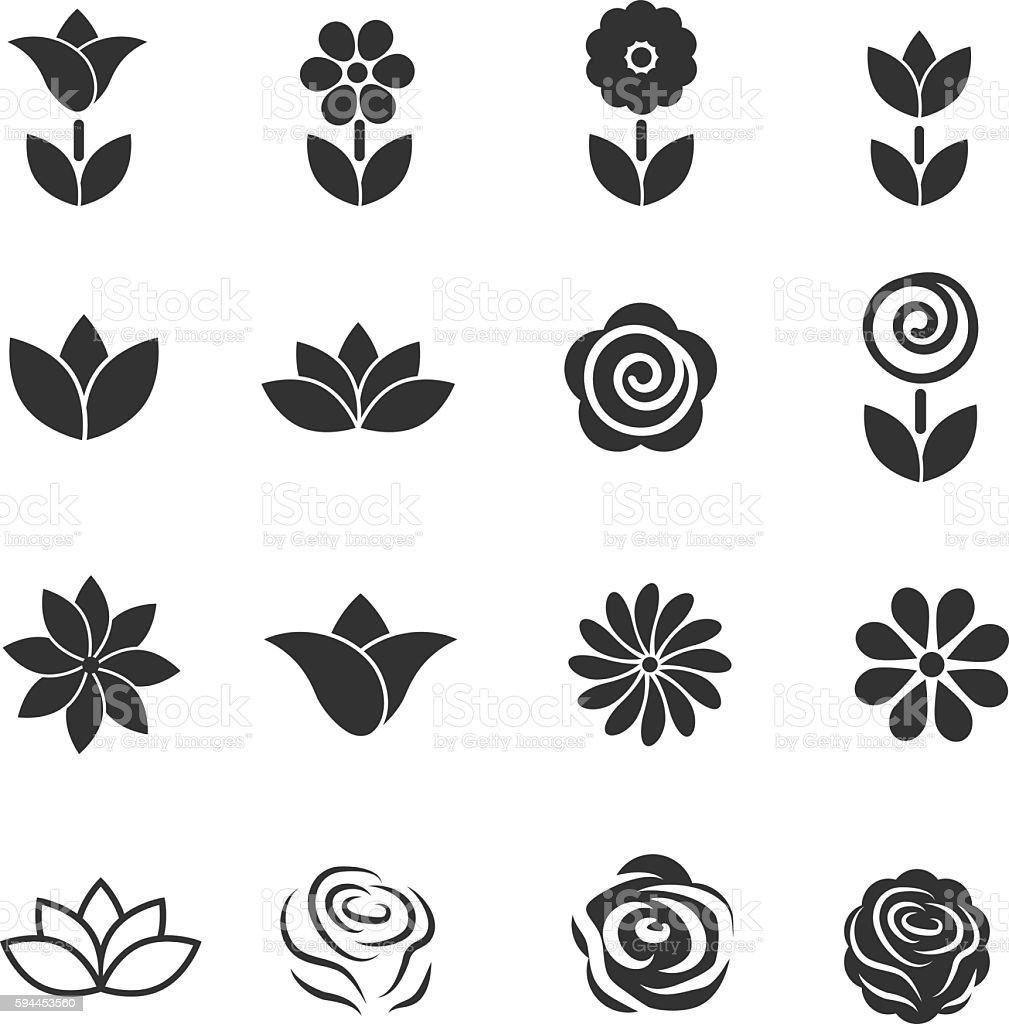Flower icon flower beauty symbol vector illustration stock vector flower icon flower beauty symbol vector illustration royalty free flower icon flower beauty symbol biocorpaavc Choice Image