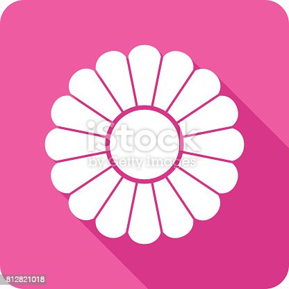 istock Flower Icon Silhouette 2 812821018