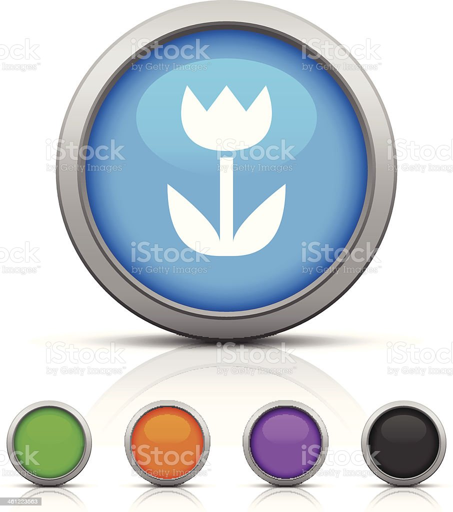 Flower icon royalty-free flower icon stock vector art & more images of black color
