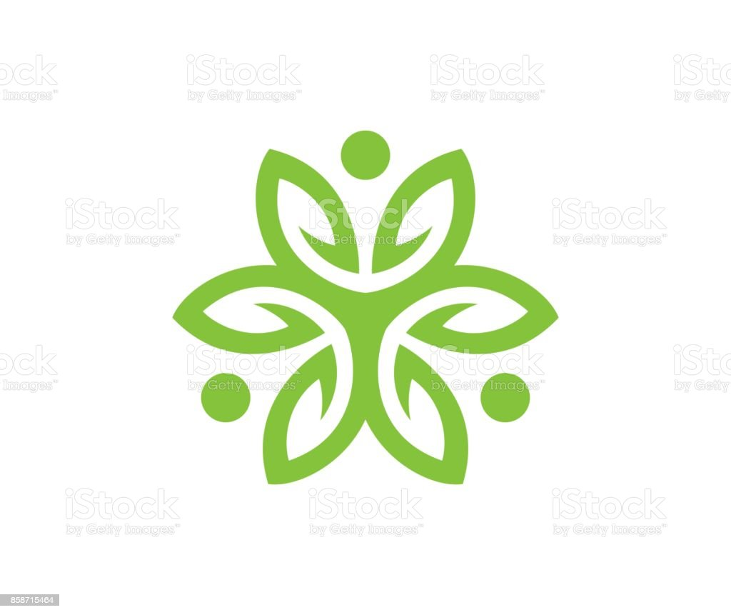 Flower icon vector art illustration