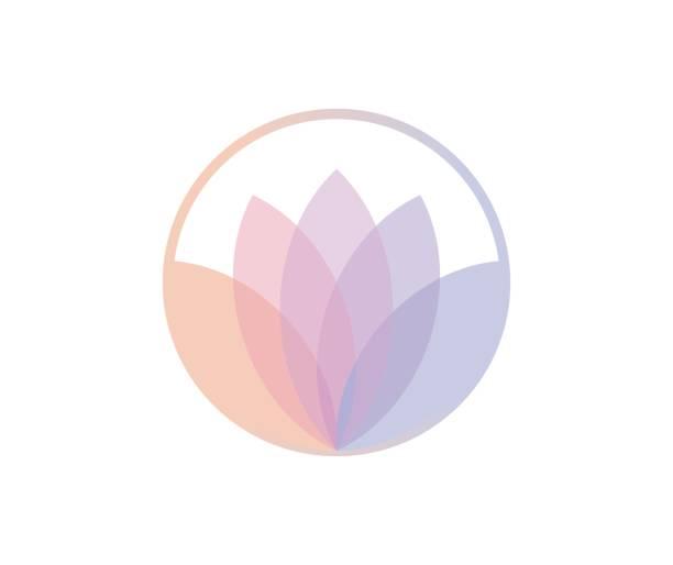 ilustrações, clipart, desenhos animados e ícones de ícone de flor - lotus
