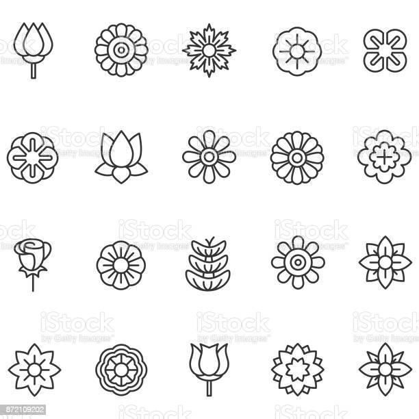 Flower icons vector id872109202?b=1&k=6&m=872109202&s=612x612&h=wennicczd6pqbmfuxbrvxp rhxexyrypfm5jj90wq7s=