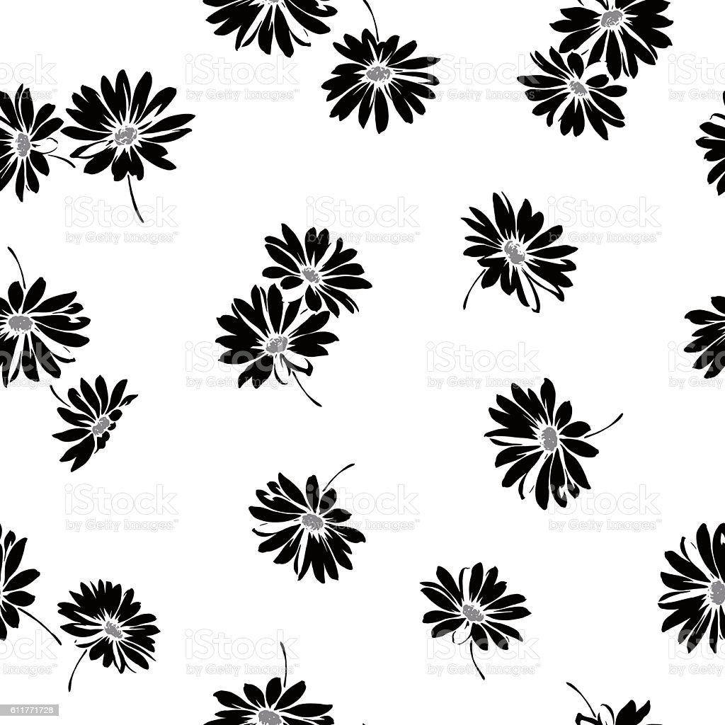 Flower illustration pattern vector art illustration
