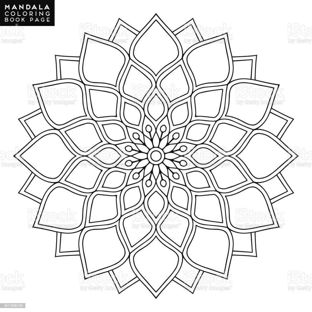 Mandala Sterrenbeelden Kleurplaten.Mandala Bloem Vintage Decoratieve Elementen Oosterse Patroon