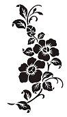 Flower motif
