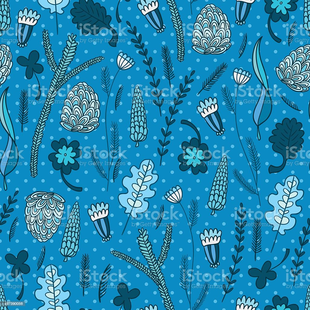 Flower nature pattern royalty-free flower nature pattern stock vector art & more images of 2015