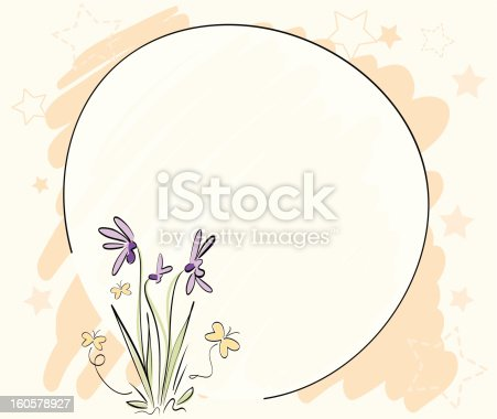 istock Flower Note Vol2. 160578927