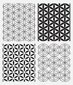 Sacred geometry, vector illustration, EPS 10