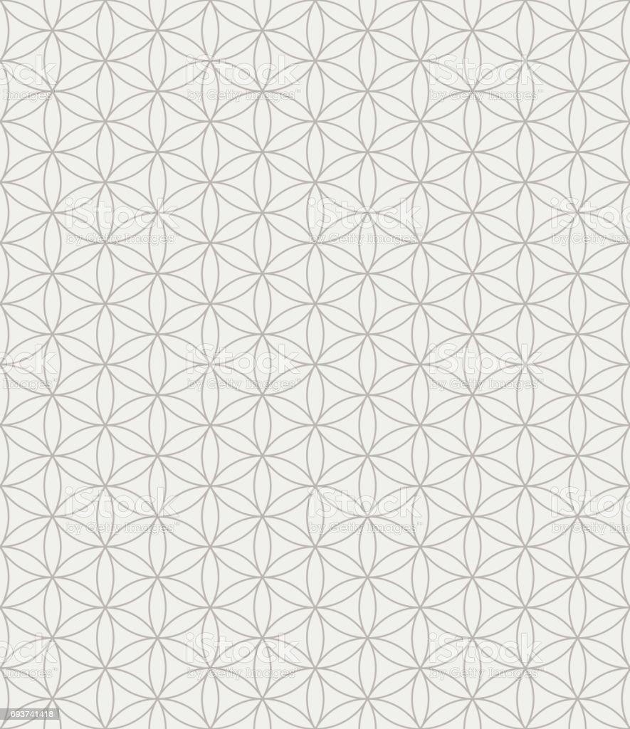Blume Des Lebens Nahtlose Muster Stock Vektor Art und mehr Bilder ...