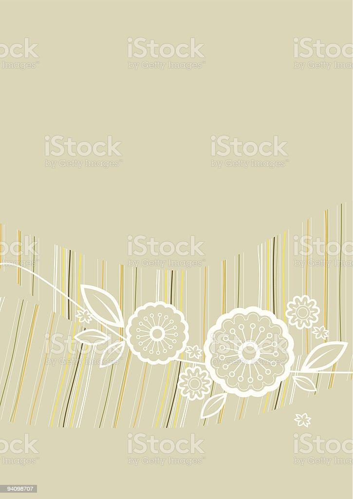 flower ornament background royalty-free stock vector art