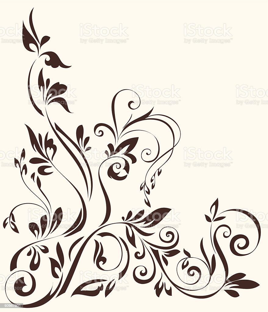 Flower ornament royalty-free flower ornament stock vector art & more images of abstract