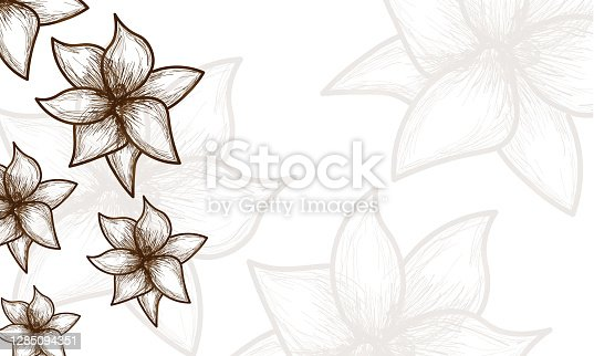 istock Flower Pattern Background illustration 1285094351