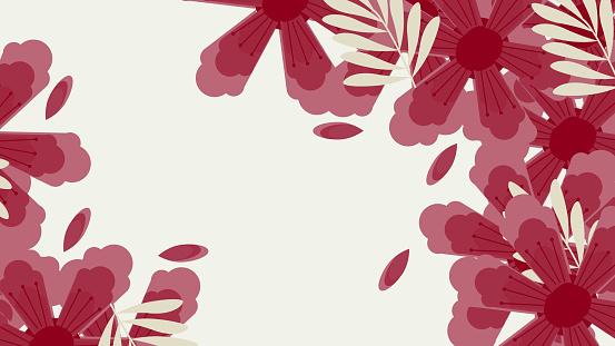 Flower Pattern background