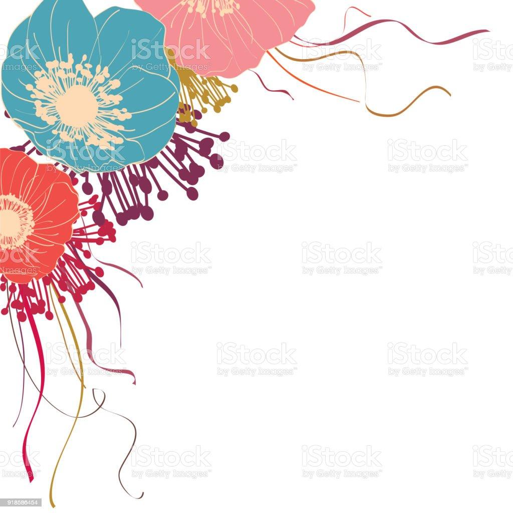 Flower pattern flowers bouquet tape wedding invitation border stock flower pattern flowers bouquet tape wedding invitation border royalty stopboris Gallery