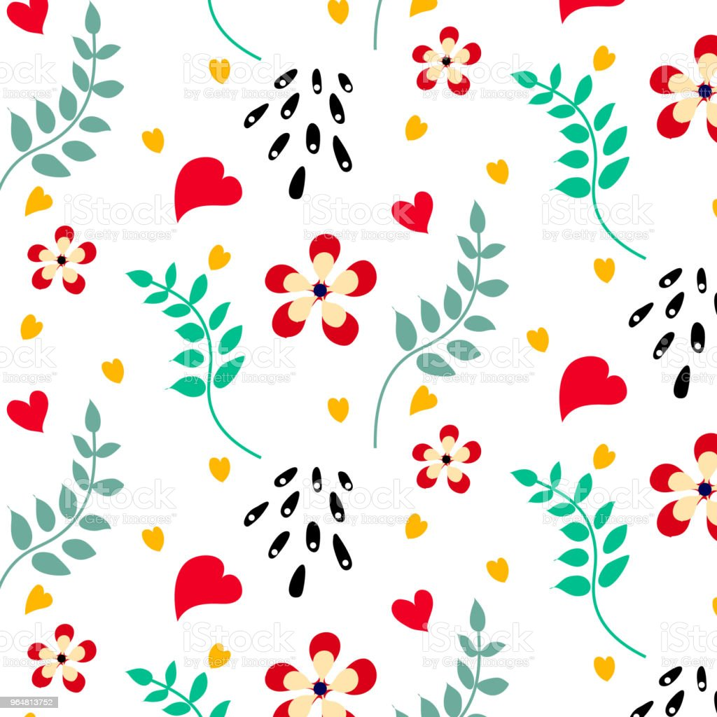 Flower Pattern royalty-free flower pattern stock vector art & more images of art