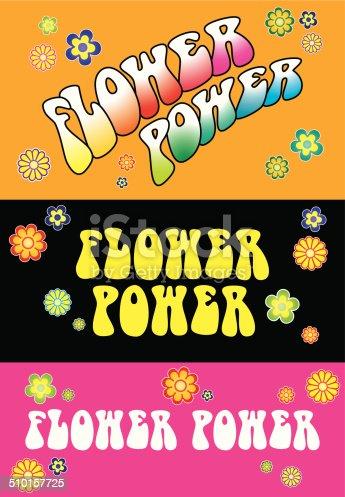 istock Flower Power Lettering 510157725
