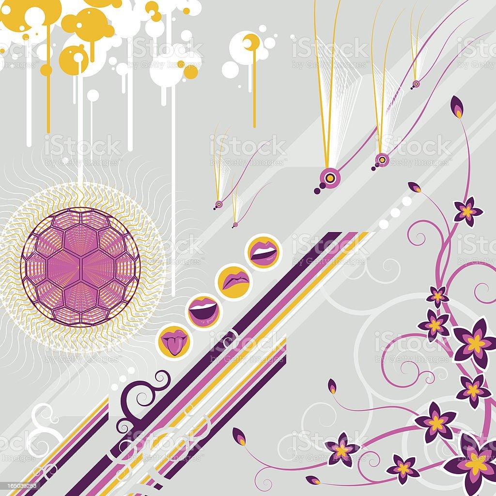 flower power royalty-free stock vector art