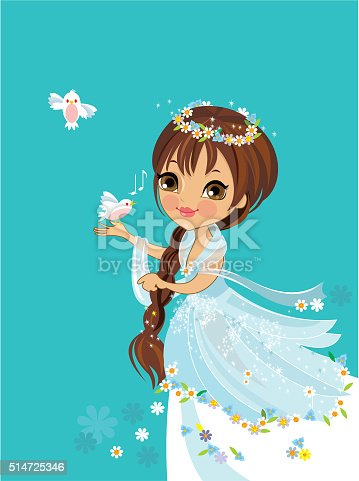 istock Flower Princess 514725346
