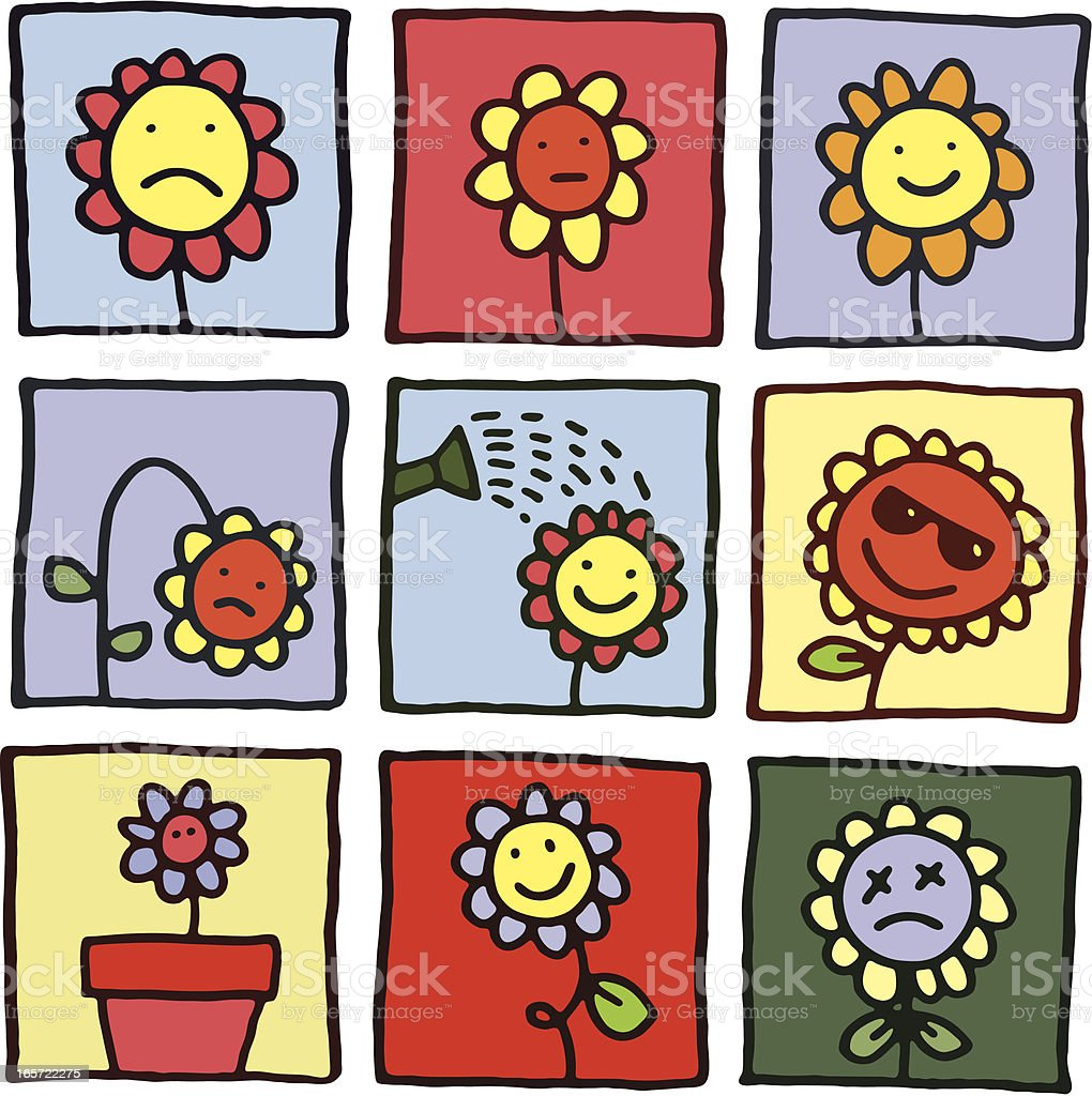 Flower prints royalty-free flower prints stock vector art & more images of cheerful