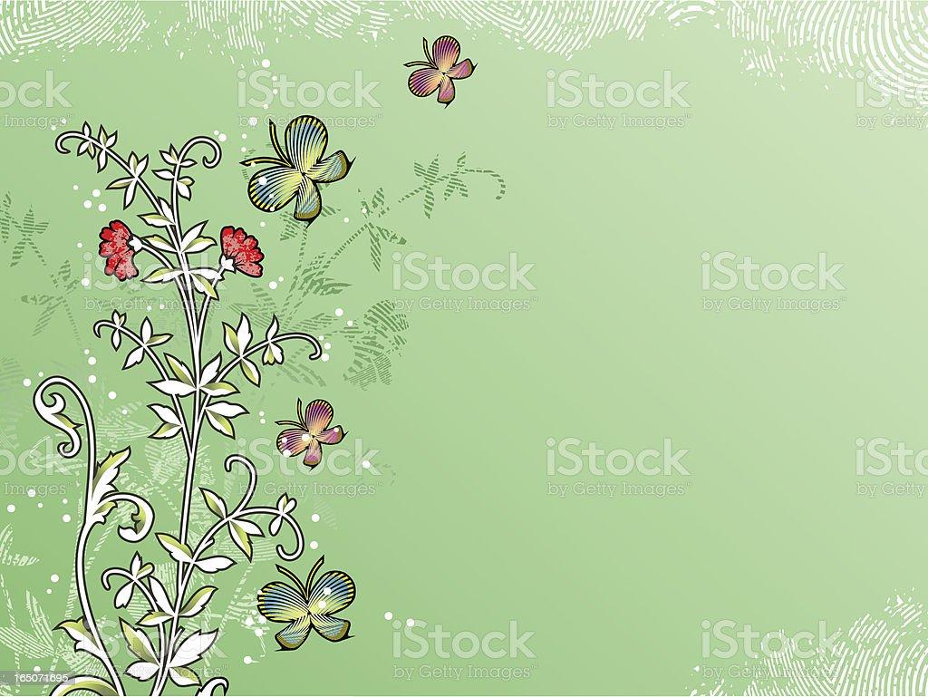 flower red royalty-free stock vector art