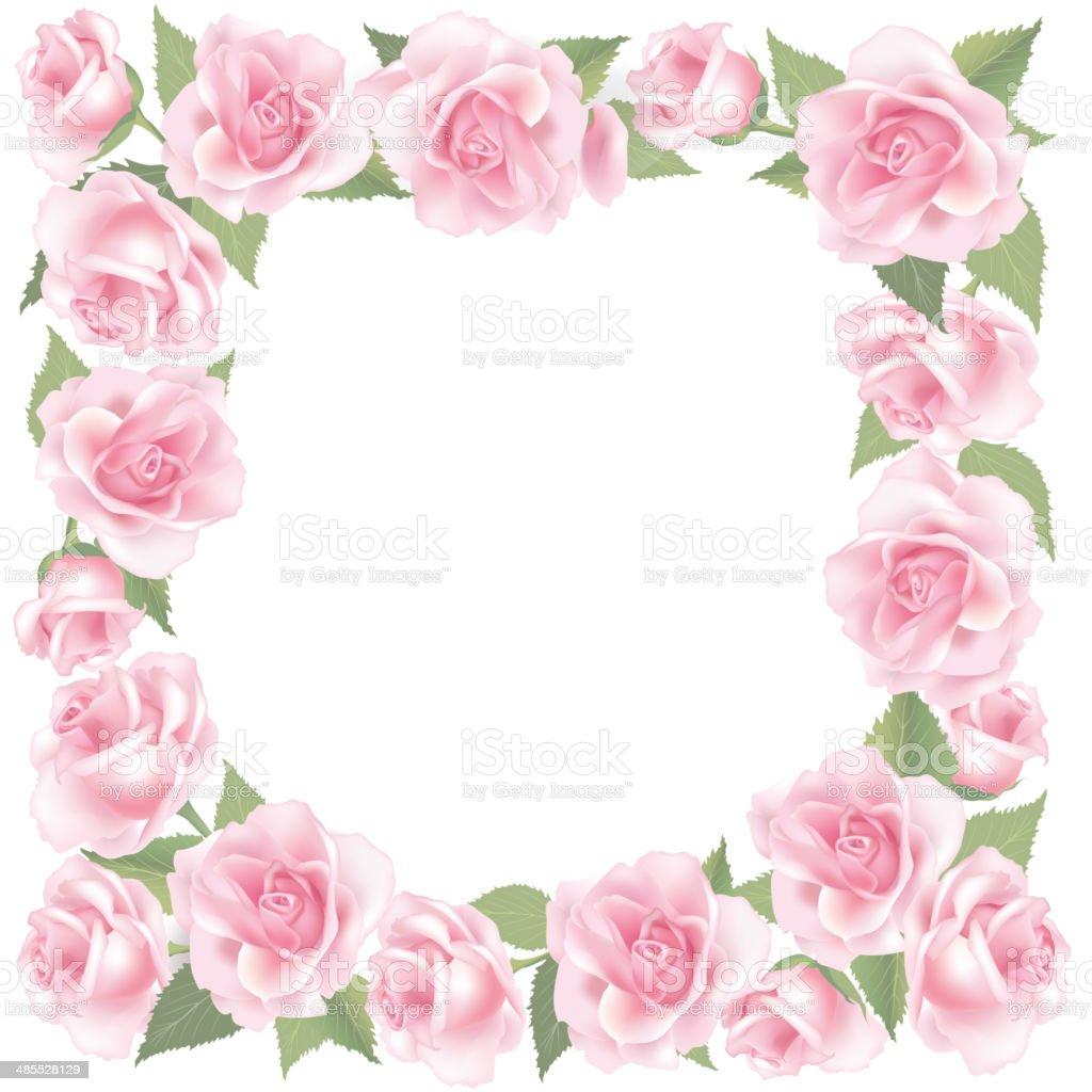 Decorazioni Fiori.Fiore Rosa Frame Decorazioni Fiori Di Primavera Immagini