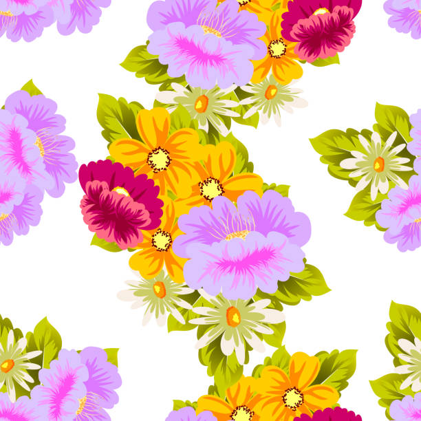 Royalty free girly birthday invitations backgrounds clip art vector flower seamless pattern for your designs greeting cards greeting cards invitations for wedding filmwisefo