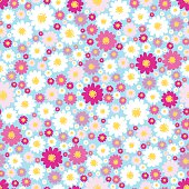 Cute small daisies background for kids